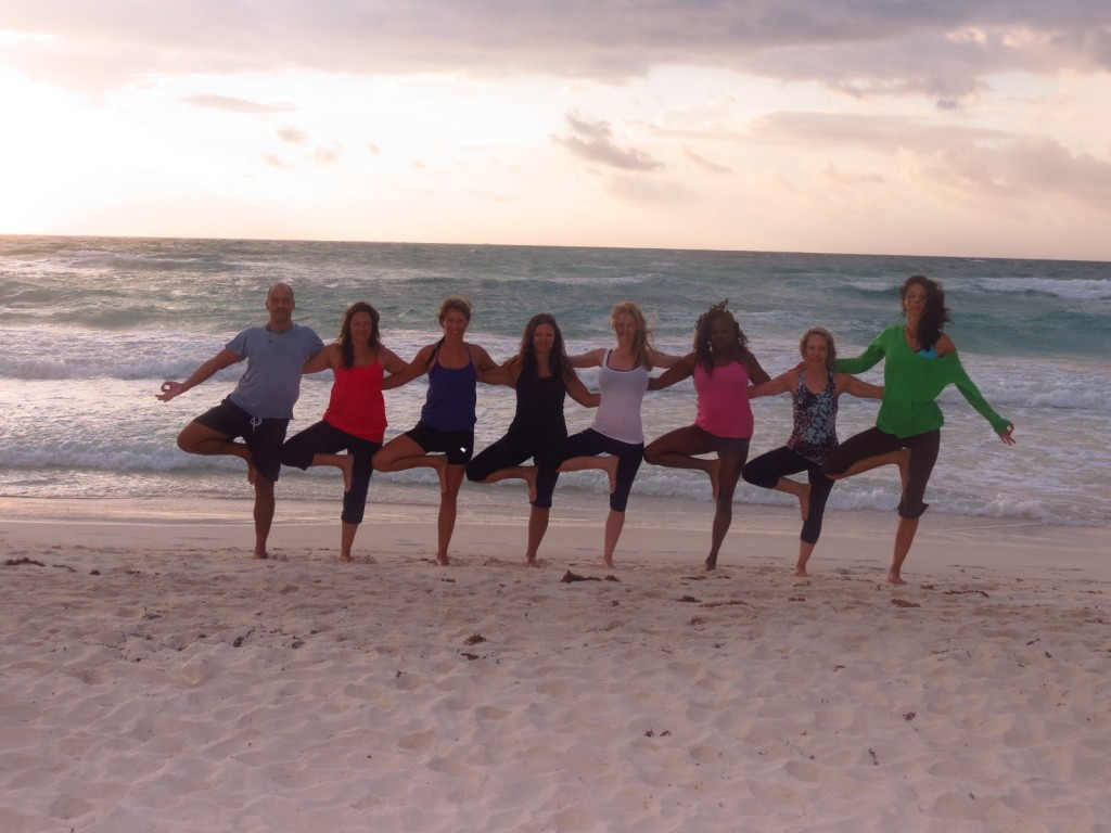 Yoga teacher training Tulum Mexico 2013